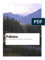 Pollution Project Cover