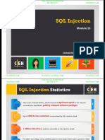 CEHv9 Module 13 SQL Injection (1)