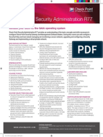 CCSA 2014 Security Administration R77