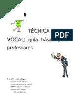 Tecnica Vocal