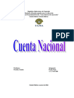 TARABAJ Cuentas Nacionales