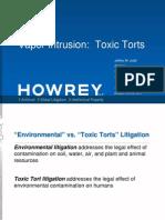 Judd Law Group --Vapor Intrusion Presentation