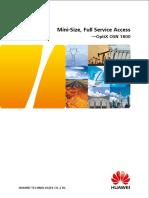 OptiX OSN 1800 Brochure