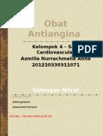 Obat Antiangina