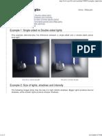 VRayLight Examples