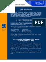 Boletin - Datos de Produccion Pesquera Nacional - 2007 - Caballa Esta en Tercer Lugar