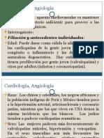 Cardiología, Angiología I