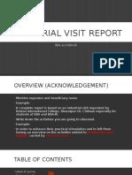 Industrial Visit Report of Surya Nepal