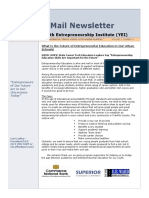 YEI E-mail Newsletter August, 2015