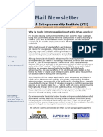 YEI E-mail Newsletter April, 2015