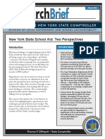 New York State Comptroller Tom DiNapoli's School Aid Report