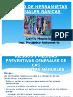 Manejo de Herramietas Manuales Básicas