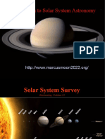 Introduction to Solar System Astronomy