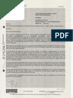 Fianza Riego Quinjalca Santander Brasil Orden de Mariño.