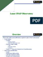 Lunar SNAP Observatory
