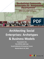 Architecting Social Enterprises