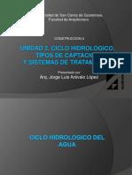Unidad 2 Ciclo Hidrologico y Fuentes de Abastecimiento