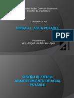 Unidad 1 Agua Potable