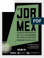 Catálogo Jornadas 2015