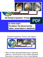 Moonsociety.org Human Expansion Triway Into Space