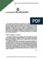 Teoría de La Educación. (Didáctica de La Educación Superior 1)