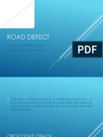 Chapter 10 - Road Maintenance (Road Defect)