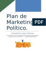 Plan de Marketing Político