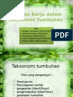Metode-Kerja-Taksonomi tumbuhan