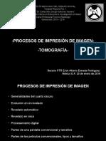 Proceso de Impresión de Imagen-Tomografía