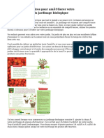 Conseils nécessaires pour améliorer votre compréhension du jardinage biologique
