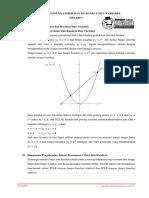 Sistem Persamaan Linier Dan Kuadrat Dua Variabel