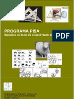PISA. Ejemplos de items de conocimiento científico
