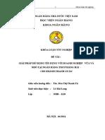 hoạt động cơ bản của chi nhánh ngân hàng thương mại cổ phần hàng hải Thanh Xuân
