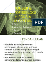 Konsep & Patofisiologi Hipoksia Dan Hipoksemia
