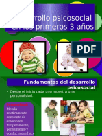 Desarrollo Psicosocial en Los Primeros 3 Anos