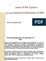 Development of IP System and Jurisprudential Justification of IPRs.pptx