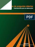 1. Manual Del Examen de Preguntas Abiertas Orientaciones Para Su Elabora (1)