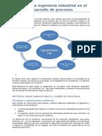 Retos de La Ingeniería Industrial en El Desarrollo de Procesos 1