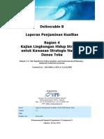 Klhs Untuk Kawasan Strategis Nasional Danau Toba