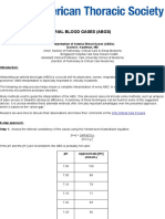 Interpretation of Arterial Blood Gases (ABGs)