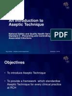 Aseptic Technique 2013