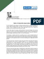 159.Basis of Deductible Depreciation.fdd.09.02.10