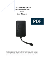 TK06A GPS Tracker User Manual