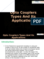 Opto Couplers Types And Its Applications