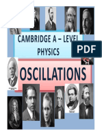 Chapter 13 Oscillations
