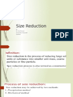 Size Reduction by VDR