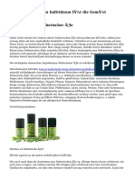 Ätherische Öle ein Individuum für die Gemüt
