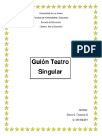 Guion Teatral singular