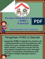 materi PHBS Sekolah SMP