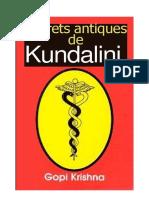 Gopi Krishna - Secrets Antiques de Kundalini (Français)